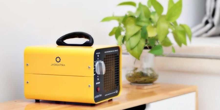 Humo Dispositivo de ozono para Habitaciones Limpiador de ozono O3 Premium Black- Generador de ozono Industrial 3500 MG//H Coches y Mascotas.Tecnologia Honey-Comb-Tec/©